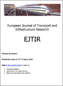 European Journal of Transport and Infrastructure Research